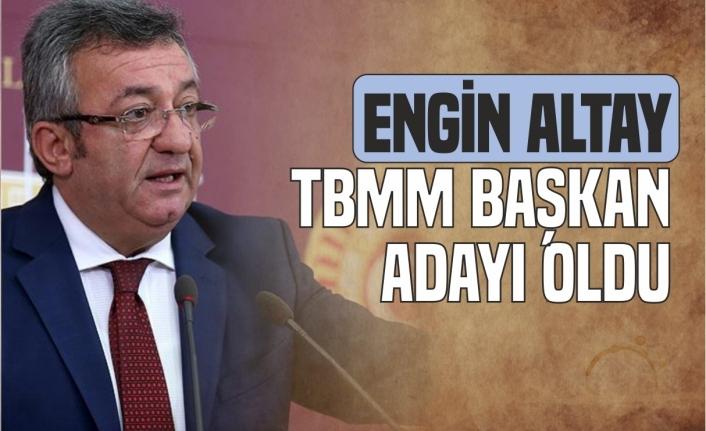 Eski Sinop Milletvekili  Altay TBMM Başkanlığına Aday