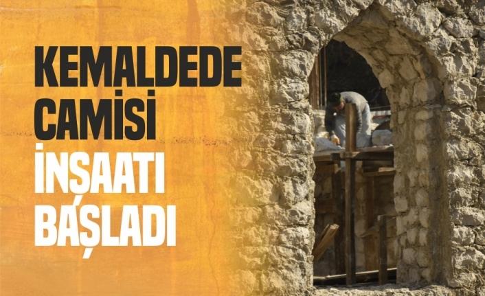 Boyabat Kemaldede Cami Yapımı Başladı ,İşte İlk Görüntüler...
