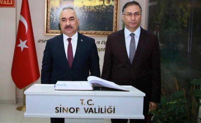 Mehmet Ersoy Sinop'ta