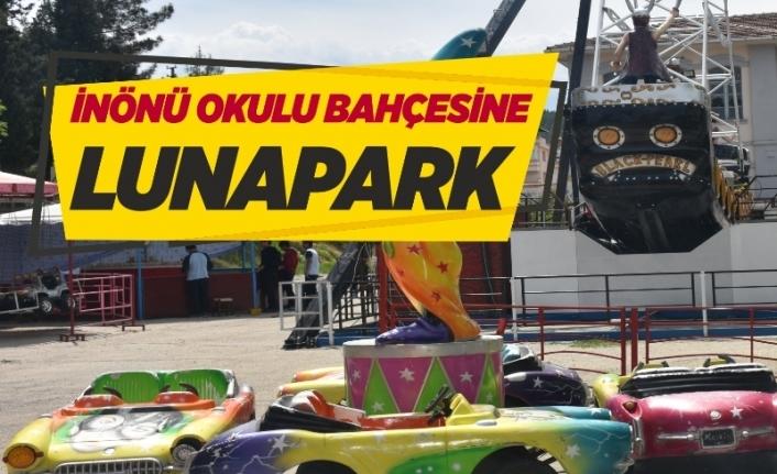 Boyabat'ta Lunapark Kuruldu