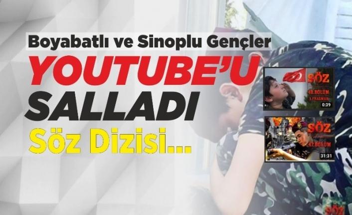 Boyabatlı ve Sinoplu Gençler Youtube'u Salladı