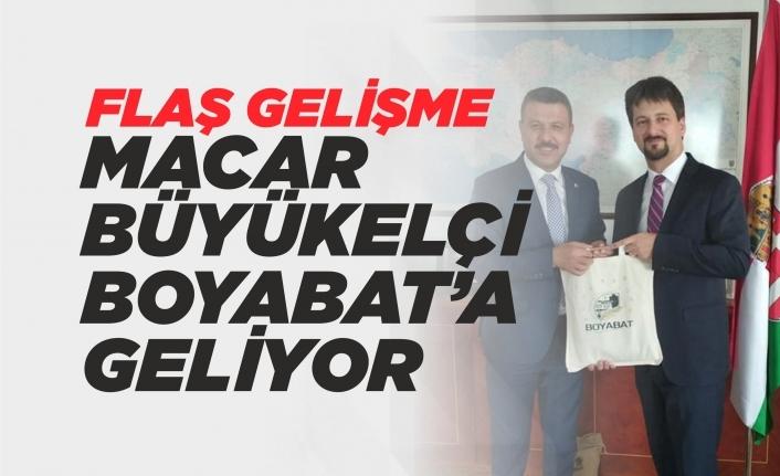 Macaristan Büyükelçisi Viktor Matis, Boyabat'a Geliyor