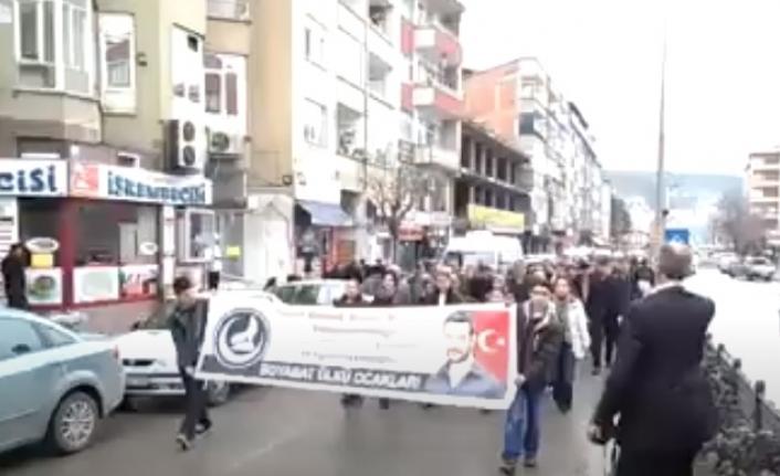 2015 Boyabat Fırat Çakıroğlu yürüyüşü