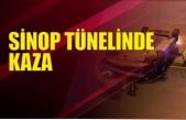 Sinop Tünelinde Kaza
