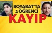 Boyabatlı 2 öğrenci kayıp
