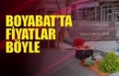 Boyabat'ta Sebze Meyve Fiyatları