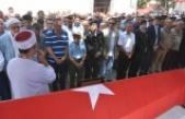 Malul Gazi Teğmen Hüseyin Kocabaş, Askeri Törenle Toprağa Verildi.