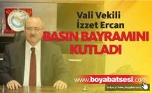 Ercan'ın 24 Temmuz Gazeteciler ve Basın Bayramı için kutlama mesajı yayınladı