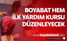 Boyabat'ta İlk yardım kursu başlıyor
