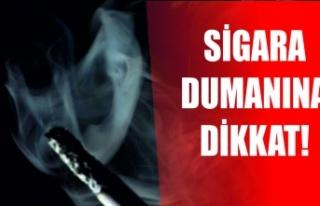 Cilde ve eşyalara sinen sigara dumanı sağlığı...