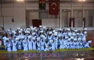 Boyabat Tekvando Okulunda 2018 Yılı 3. Dönem Kuşak...