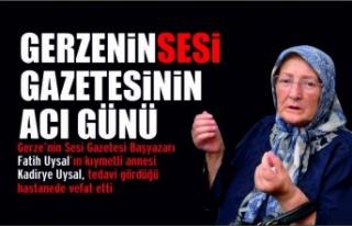 Gerze'nin Sesi Gazetesinin acı günü