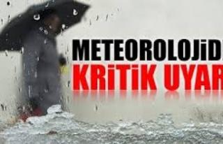 Meteorolojiden kritik uyarı: Boyabat'ta 2 günlük