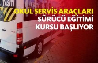 OKUL SERVİS ARAÇLARI SÜRÜCÜ EĞİTİMİ KURSU...