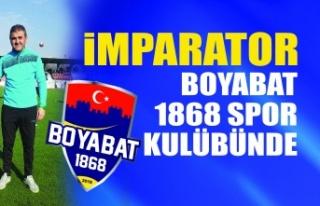 YENİ KURULAN BOYABAT 1868 SPOR İMPARATOR MUSTAFA...