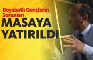 Boyabat Gençlik Merkezi Müdürü Hüseyin Köroğlu...