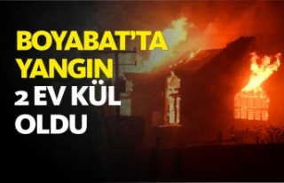 Boyabat'ta Yangın