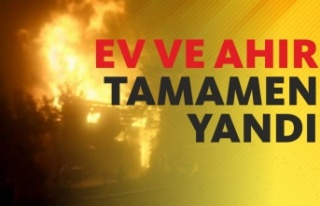 Eymir Köyü'nde Yangın