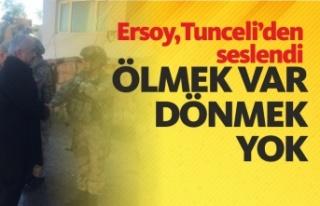 """İçişleri Bakan Yardımcısı Mehmet Ersoy :""""Bir..."""