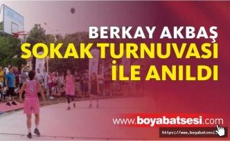 2. Geleneksel Berkay Akbaş Sokak Basketbol Turnuvası