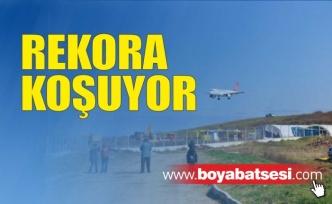 Sinop Havalimanı Rekora Koşuyor