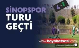 Sinopspor Ziraat Türkiye Kupası Maçında Ünyespor'u Eleyerek Tur Atladı
