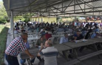 Salar Köyünde Yağmur Duası Gerçekleştirildi