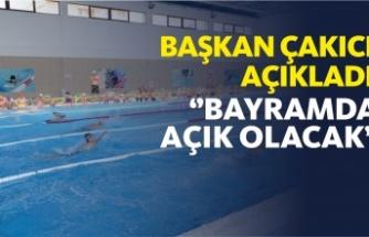 Boyabat Yüzme Havuzu Bayramda Açık Olacak