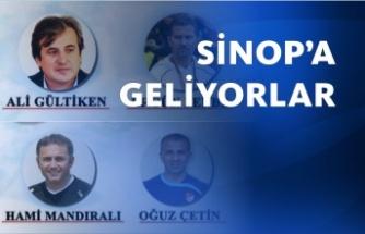 Futbolun efsaneleri Sinop'a geliyor