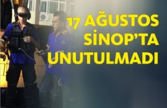 Sinop AFAD Depremle Mücadeleyi Anlattı