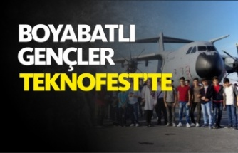 Boyabatlı Öğrenciler Türkiye'nin İlk Uzay,Havacılık ve Teknoloji Festivali Teknofest'i Gezdi