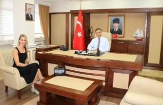 Denizbank Şube Müdürü Vali Şakaları Ziyaret Etti