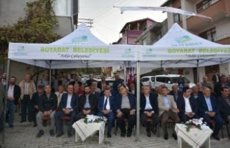 Boyabat Asım Erdoğan Camisi Törenle İbadete Açıldı