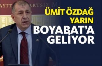 İYİ Parti Genel Başkan Yardımcısı Ümit Özdağ Boyabat'a Geliyor
