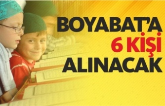 Sinop İl Müftülüğü İl genelinde geçici personel alacak