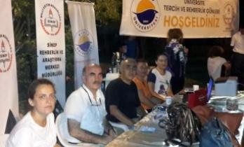 """Sinop'ta """"Üniversite Tercih ve Rehberlik Günleri"""" etkinliği"""