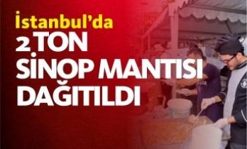 İstanbul'da Sinop Mantısı Kuyruğu