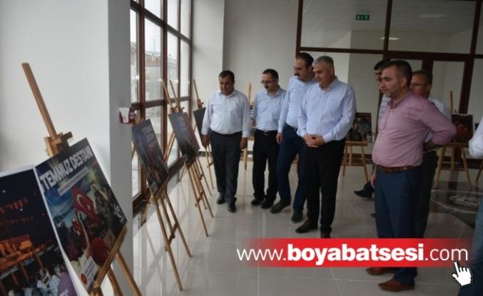 Boyabat'ta 15 Temmuz Fotoğraf Sergisi Açıldı