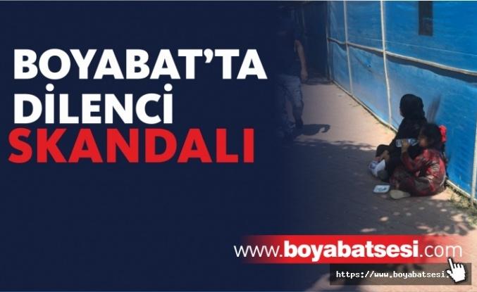 Boyabat'ta Dilenci Skandalı