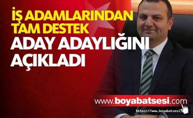 Barbaros Baltacı aday adaylığını açıkladı