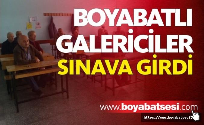 Boyabat'ta İkinci El Oto Alım Satım Mesleki Yeterlilik Sınavı Tamamlandı