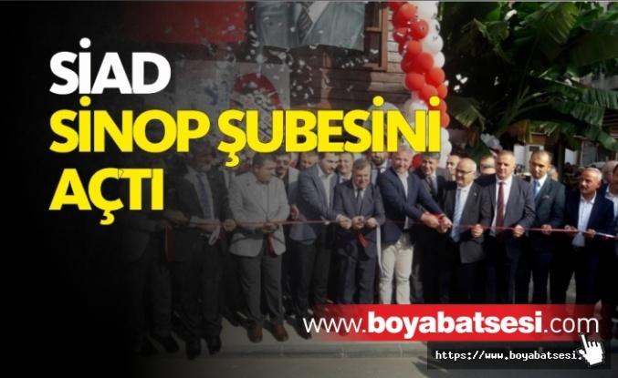 SİAD Sinop Şubesi Törenle Açıldı
