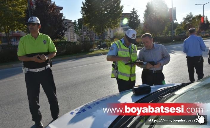 Boyabat'taTrafik DenetlemeleriYoğunlaştırıldı