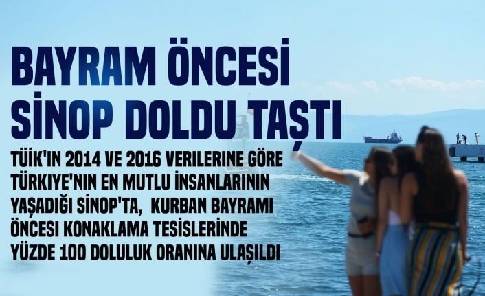 Sinop'ta bayram öncesi konaklama tesisleri doldu